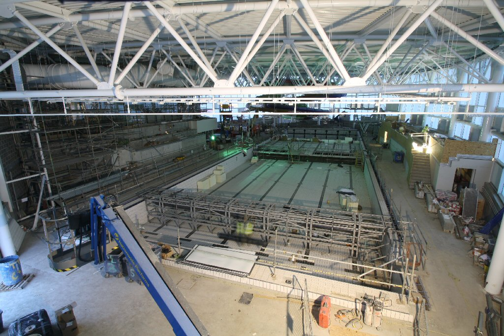 Progress Of The New Olympia Leisure And Culture Dundee