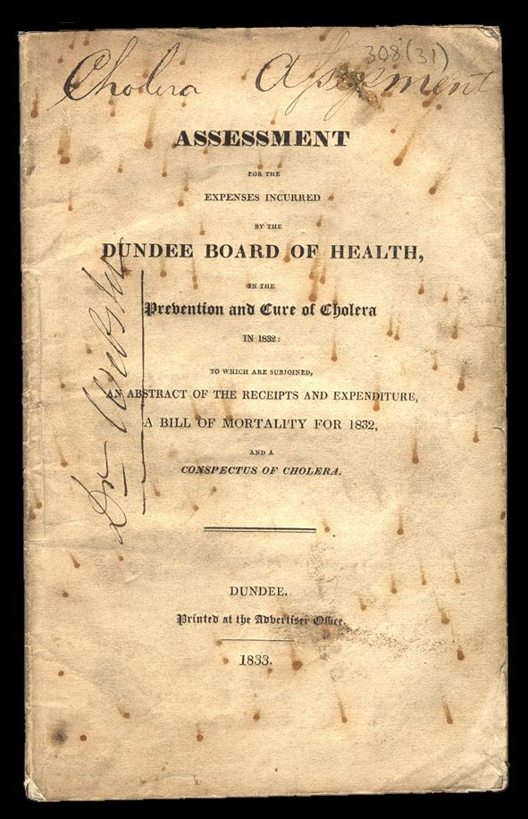 Dundee Board of Health and Cholera