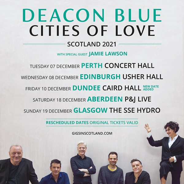 Deacon Blue  - Cities of Love Tour