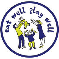 Eat Well Play Well Logo