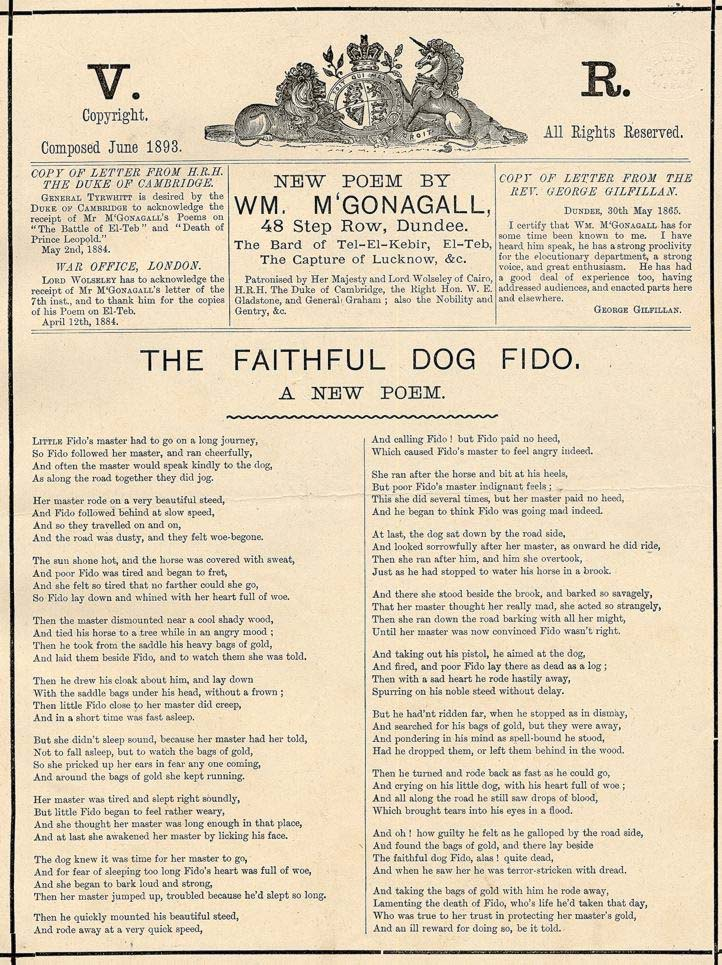 The Faithful Dog Fido