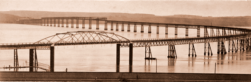 The First Tay Bridge from the North