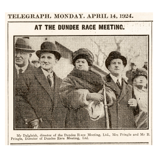 At the Dundee Race Meeting