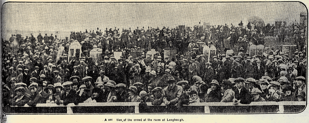 A Section of the Crowd at Longhaugh July 1924