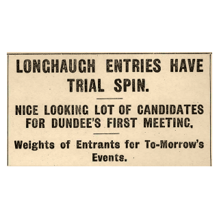 Longhaugh Entries Have Trial Spin