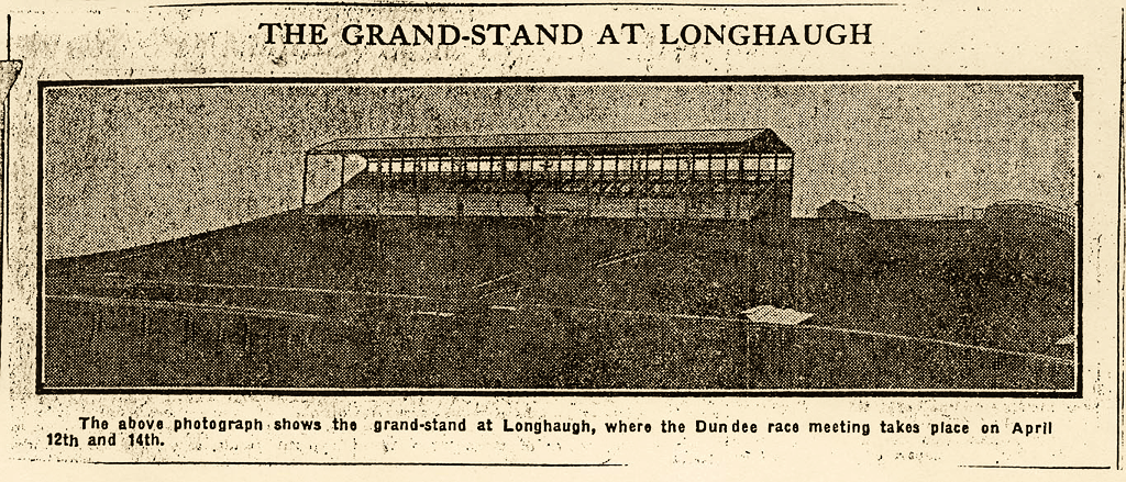 The Grand-Stand at Longaugh Racecourse