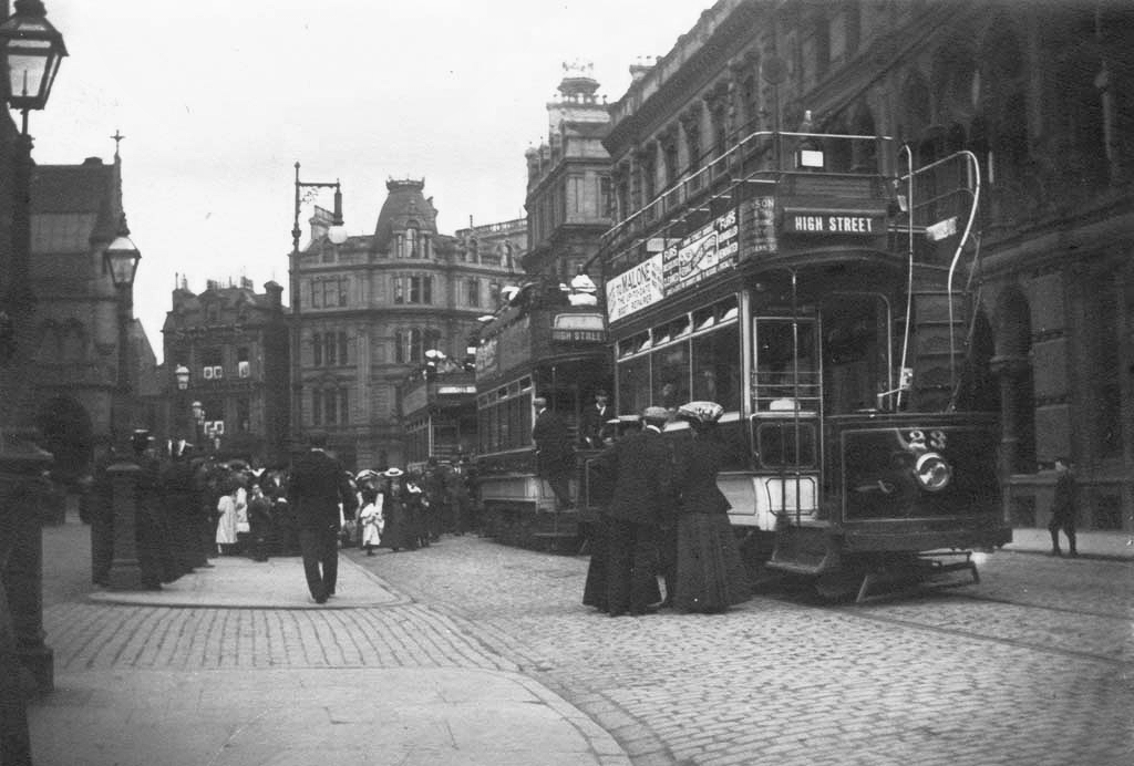 Open Top Trams Albert Square