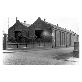 Maryfield Tram Shed