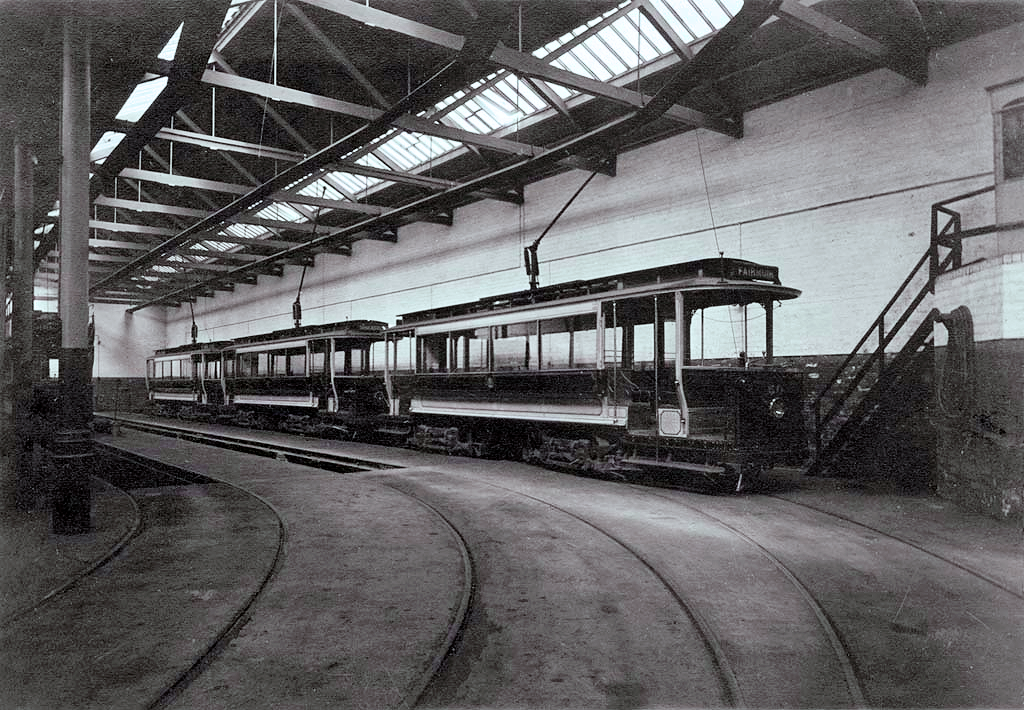 Maryfield Tram Shed Interior
