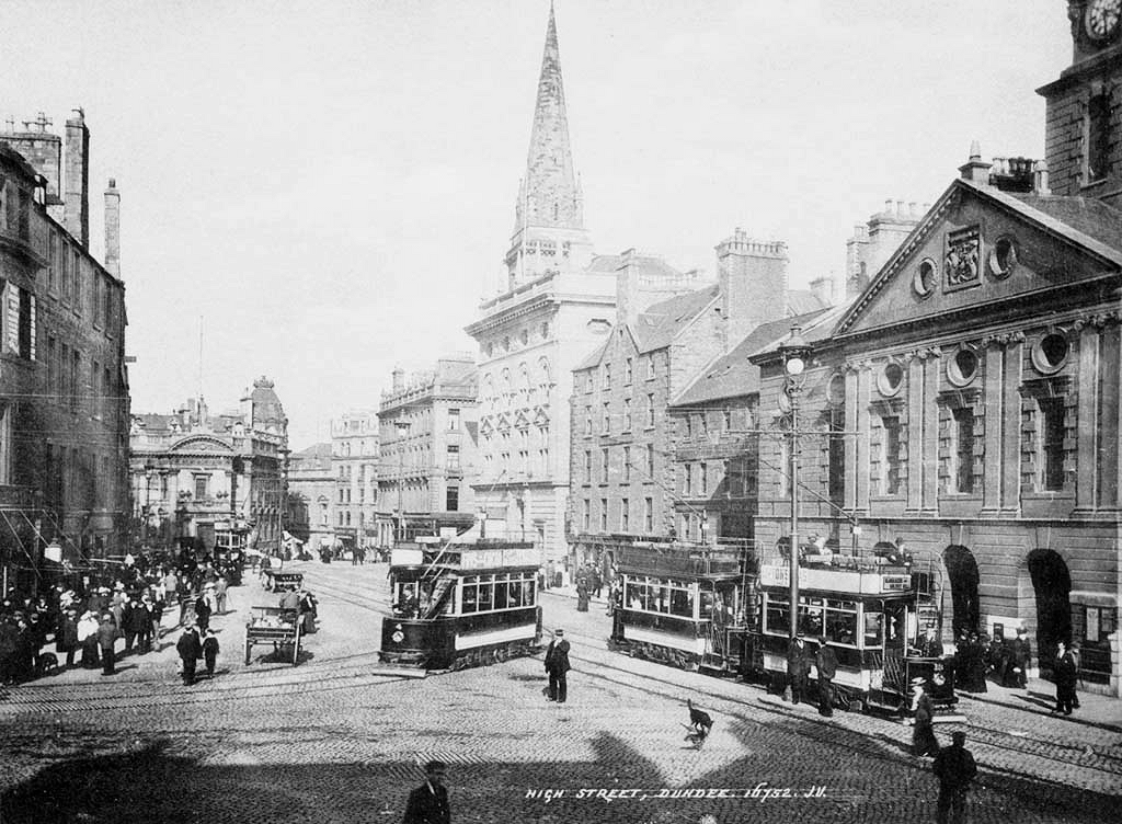 Open Top Trams, High Street Looking East