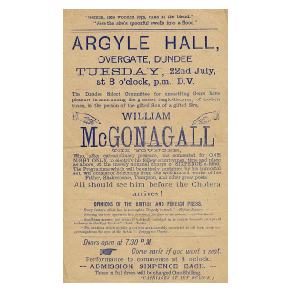 Appearance at The Argyle Hall