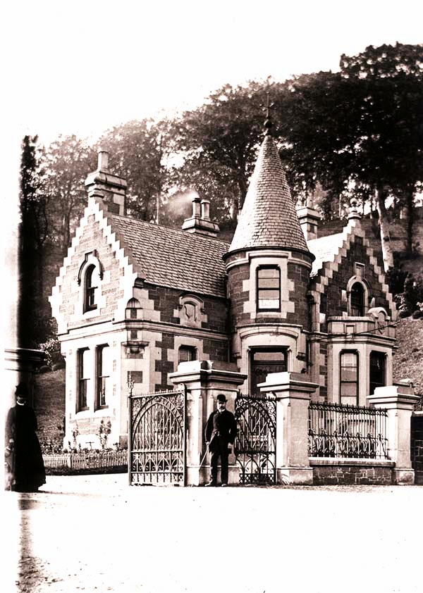 Balgay Park Entrance Lodge, East End