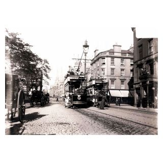 Open Topped Trams in Nethergate