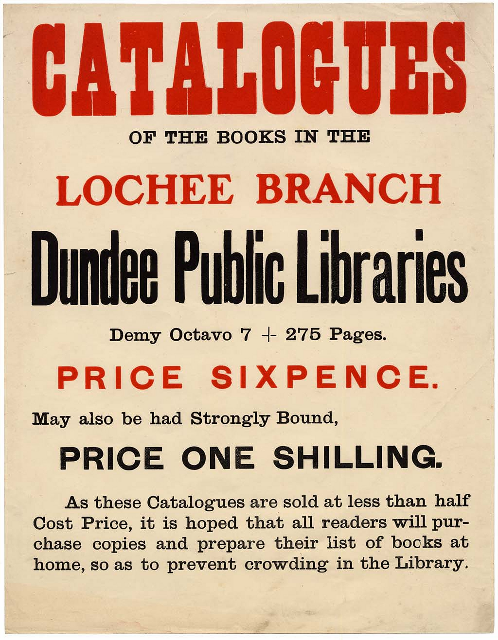 Lochee Branch Library Poster