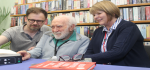 Scottish War Blinded: Eye-Pal Vision Aid Donation to Central Library