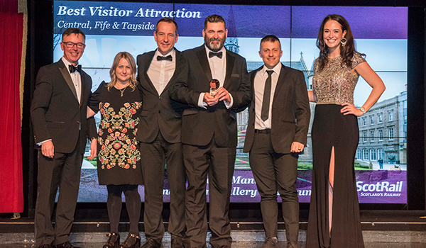 Best Visitor Attraction Award for The McManus