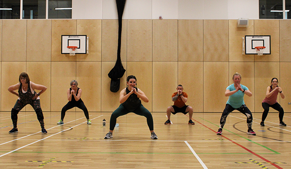 Fitness classes are welcomed back in Dundee