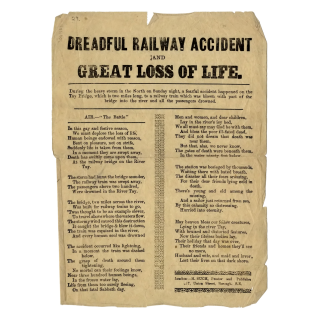 Dreadful Railway Accident and Great Loss of Life