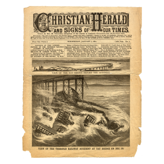 Christian Herald, Wednesday, January 7th 1880