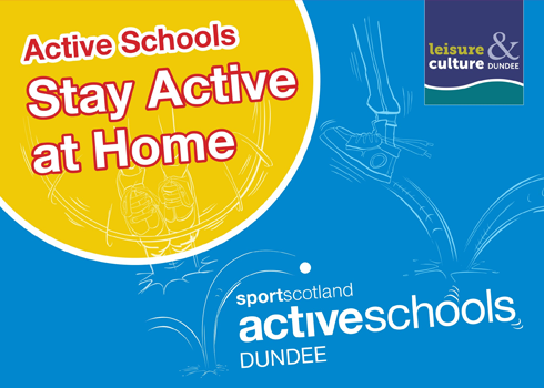 Dundee Active Schools Stay Active at Home